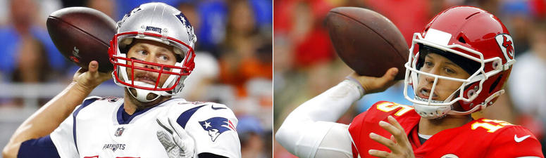 Pats' Brady, Chiefs' Mahomes achieve success different ways