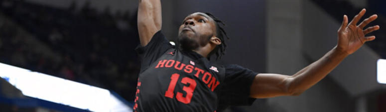 No. 9 Houston beats UConn 71-63 for 9th straight victory.