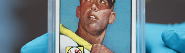 The 'Holy Grail' of baseball cards on display