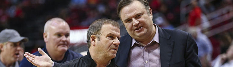 Rockets' Daryl Morey will stay in Houston