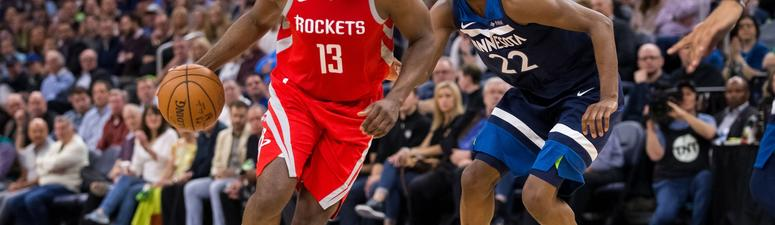 Harden Stars As Rockets Push Wolves To The Brink