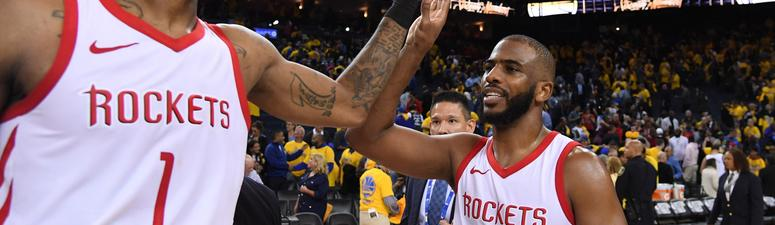 Rockets Storm Back To Level Western Conference Finals