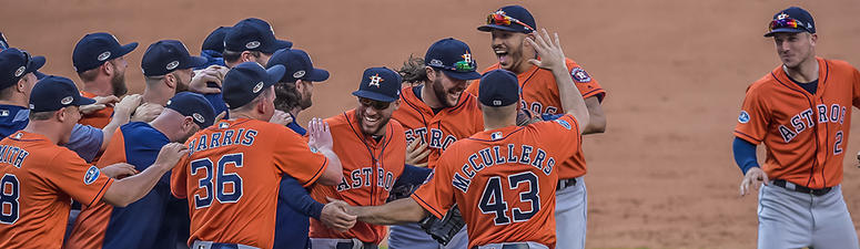 The Astros will head back to the World Series