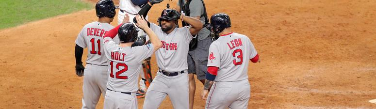 Big Eighth Inning Lifts Red Sox To Game 3 Win