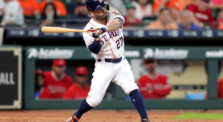 Jose Altuve home run swing