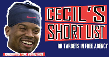 Cecil's Short List: RBs the Houston Texans Should Target in Free Agency
