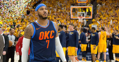 Melo out in OKC - Next Stop Houston?