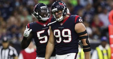 Texans Look To Get Pass Rush Going Against Giants