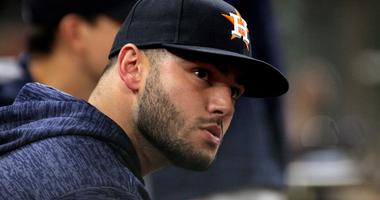 McCullers looks from the dugout