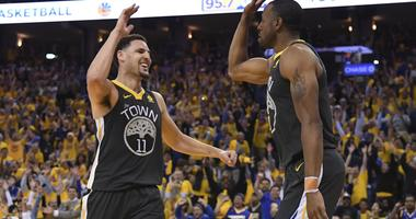 Warriors' Thompson, Iguodala Questionable For Game 5