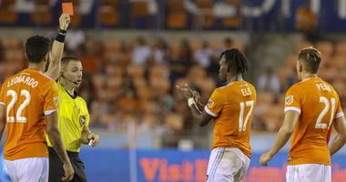 Dynamo Seeing Red After 1-0 Defeat
