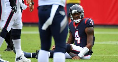 The Houston Texans fall to the Tennessee Titans 20-17