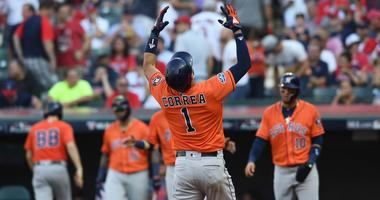 Astros sweep the Indians - heading back to ALCS