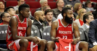 Harden, Capela Lead Rockets To Win Over Pistons