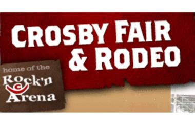 Crosby Fair and Rodeo Logo