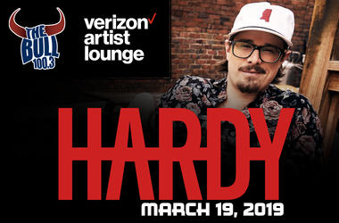 ardy in the Verizon Artist Lounge on March 19, 2019