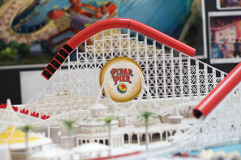 WALT DISNEY IMAGINEERING WORKING MODEL OF PIXAR PIER