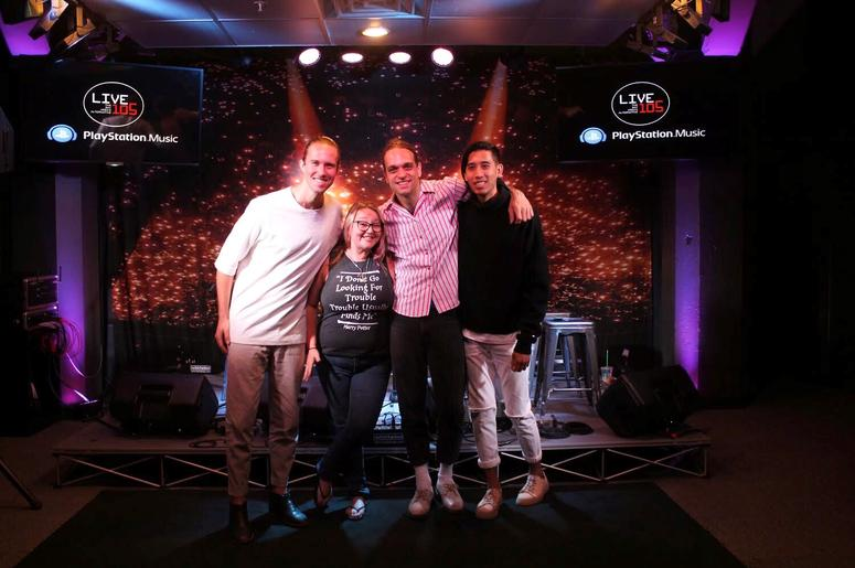 Sir Sly Meet-N-Greet In The PlayStation Music Space