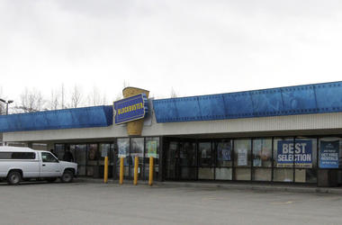 Blockbuster Video store in Anchorage