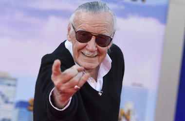 "In this June 28, 2017 file photo, Stan Lee arrives at the Los Angeles premiere of ""Spider-Man: Homecoming"" at the TCL Chinese Theatre. Lee's restraining order against a former business manager has been extended for three years. A Los Angeles Superior Cour"