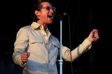 Alex Turner from the Arctic Monkeys