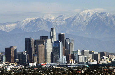 California officials announced that greenhouse gas emissions had been lowered below 1990 levels years ahead of schedule.