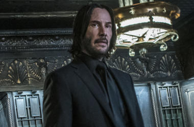 "Keanu Reeves as 'John Wick' in ""John Wick: Chapter 3 - Parabellum"" (Photo credit: Lionsgate)"