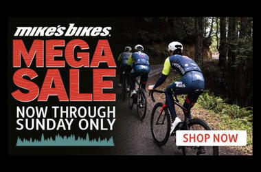 Mikes Bikes Mega Sale April 2018