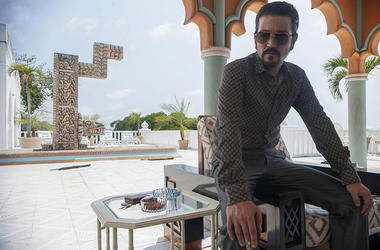 Diego Luna as Félix Gallardo in 'Narcos: Mexico' (Photo credit: Carlos Somonte/Netflix)