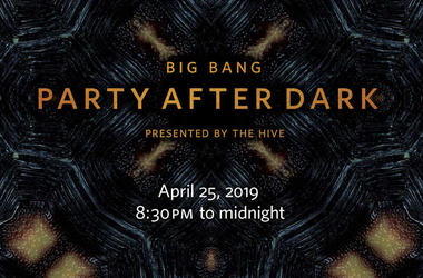 "California Academy of Sciences' ""Party After Dark""!"