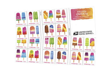 Frozen Treats Stamps