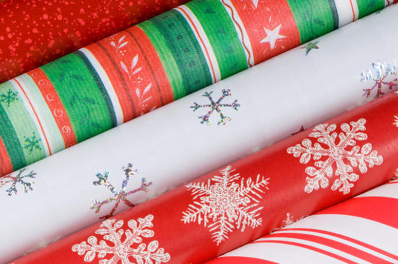 Christmas Gift Wrap Paper