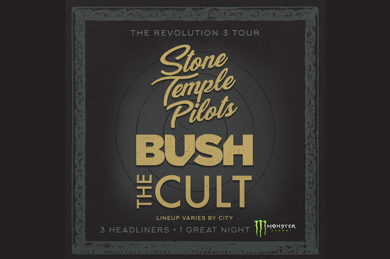 Revolution 3 Tour: Bush, Stone Temple Pilots and The Cult