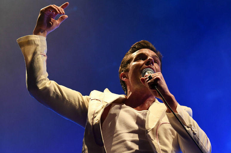 Brandon Flowers of The Killers