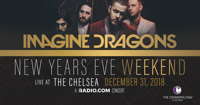 See Imagine Dragons In Las Vegas On New Year's Eve!