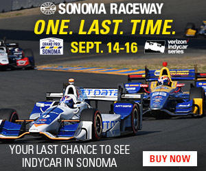 Indy Car Series at Sonoma Raceway