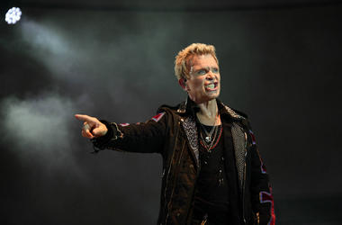 Billy Idol performs during SunFest in 2018
