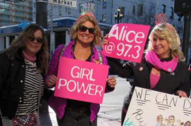 Alice Entourage At The 2018 Women's March