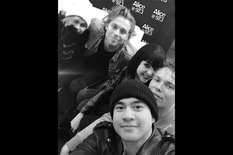 5 Seconds Of Summer with Jayn