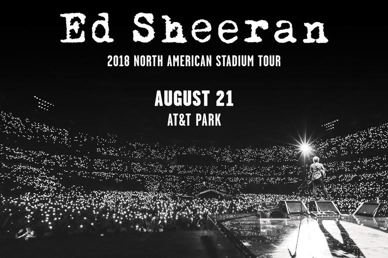 Ed Sheeran 2018 North American Stadium Tour