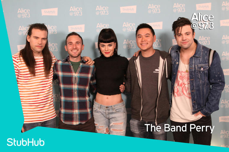 The Band Perry Meet-N-Greet On The StubHub Stage In The Alice Lounge