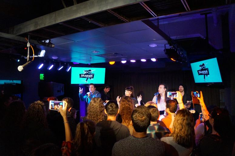 The Band Perry On The StubHub Stage In The Alice Lounge