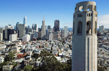 San Francisco's iconic Coit Tower (Photo credit: Trong Nguyen)