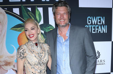 27 June 2018 - Las Vegas, NV - Gwen Stefani, Blake Shelton. Gwen Stefan: Just A Girl Red Carpet at Planet Hollywood Resort Hotel and Casino.