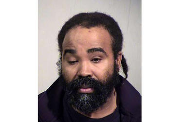 This photo provided by Maricopa County Sheriff's Office shows Nathan Sutherland.