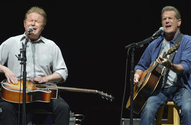 Don Henley and Glenn Frey of The Eagles