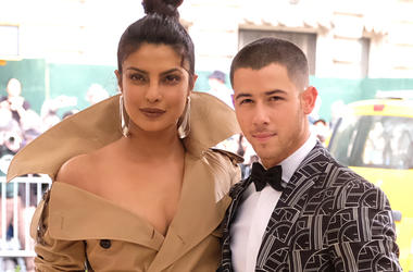 In this May 1, 2017 file photo, Priyanka Chopra, left, and Nick Jonas attend The Metropolitan Museum of Art's Costume Institute benefit gala celebrating the opening of the Rei Kawakubo/Comme des Garçons: Art of the In-Between exhibition in New York. The c