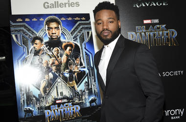 "In this Feb. 13, 2018 file photo, director Ryan Coogler attends a special screening of ""Black Panther"" in New York. Coogler will write and direct the sequel to ""Black Panther."" Neither a start date nor a release date has yet been announced. (Photo by Evan"