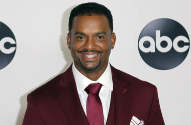 "In this Aug. 7, 2018 file photo, Alfonso Ribeiro arrives at the Disney/ABC 2018 Television Critics Association Summer Press Tour in Beverly Hills, Calif. Ribeiro is suing creators of Fortnite and NBA 2K for using his famous dance as Carlton from ""The Fres"