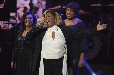 "Patti LaBelle performs at the ""Aretha! A Grammy Celebration For The Queen Of Soul"" event at the Shrine Auditorium on Sunday, January 13, 2019, in Los Angeles. The special is set to air on March 10, 2019. (Photo by Richard Shotwell/Invision/AP)"